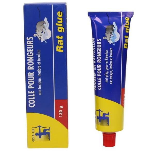 tube de glu 135gr pour pi ger rat souris ou insectes tout pour les nuisibles. Black Bedroom Furniture Sets. Home Design Ideas
