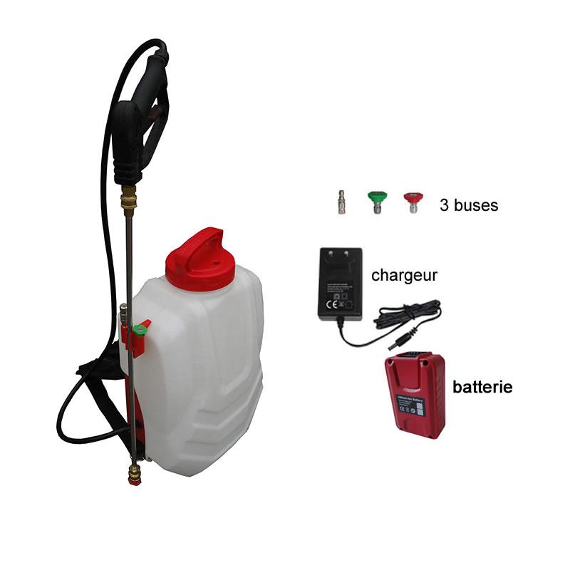 Pulvérisateur à dos Sprayer électrique autonome sur batterie