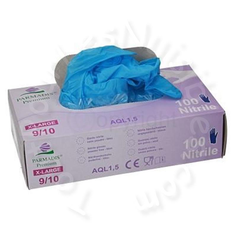boite de 100 gants nitriles fins bleus boite distributrice de 100 gants nit tout pour les. Black Bedroom Furniture Sets. Home Design Ideas